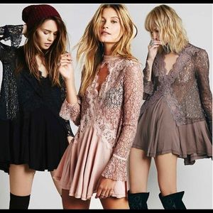 🔥NWT FREE PEOPLE Secret Origins Tunic Dress